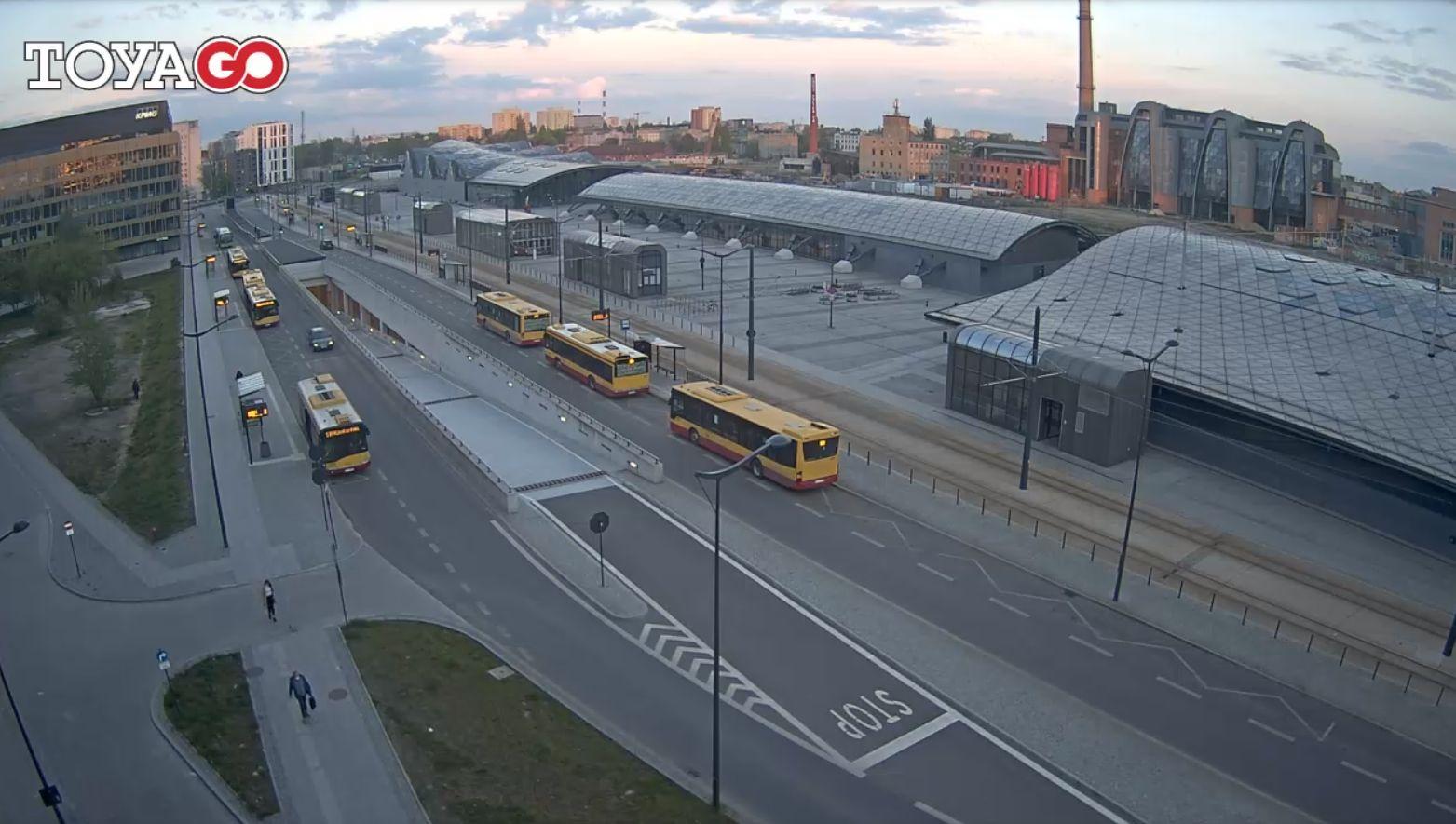 Łódź, dworzec Łódź Fabryczna