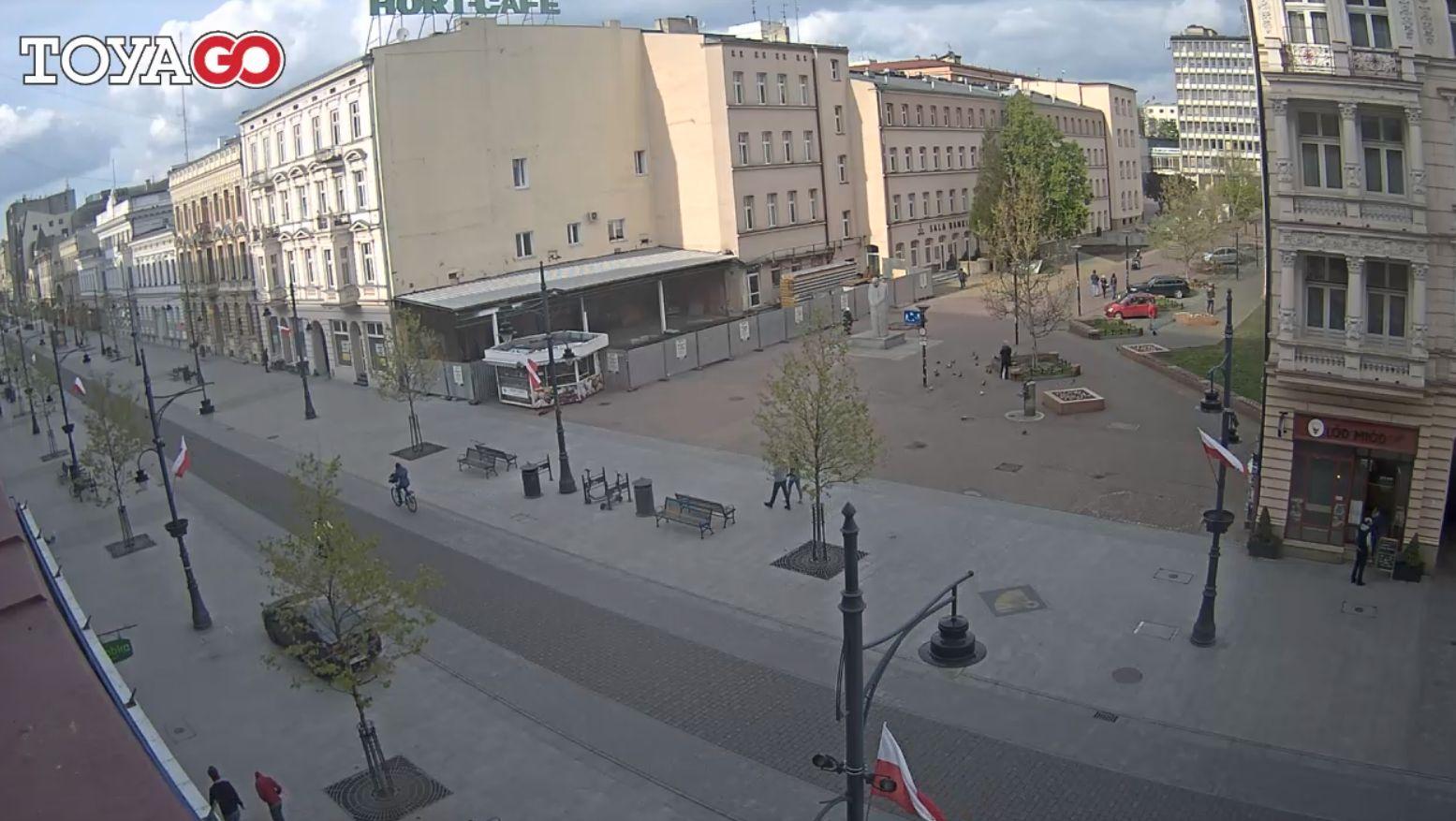 Łódź, ul. Piotrkowska – al. Leona Schillera