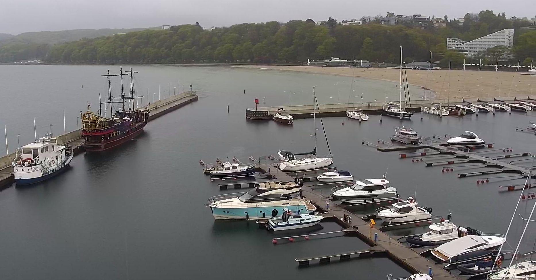 Gdynia, przystań jachtowa Marina Yacht Park