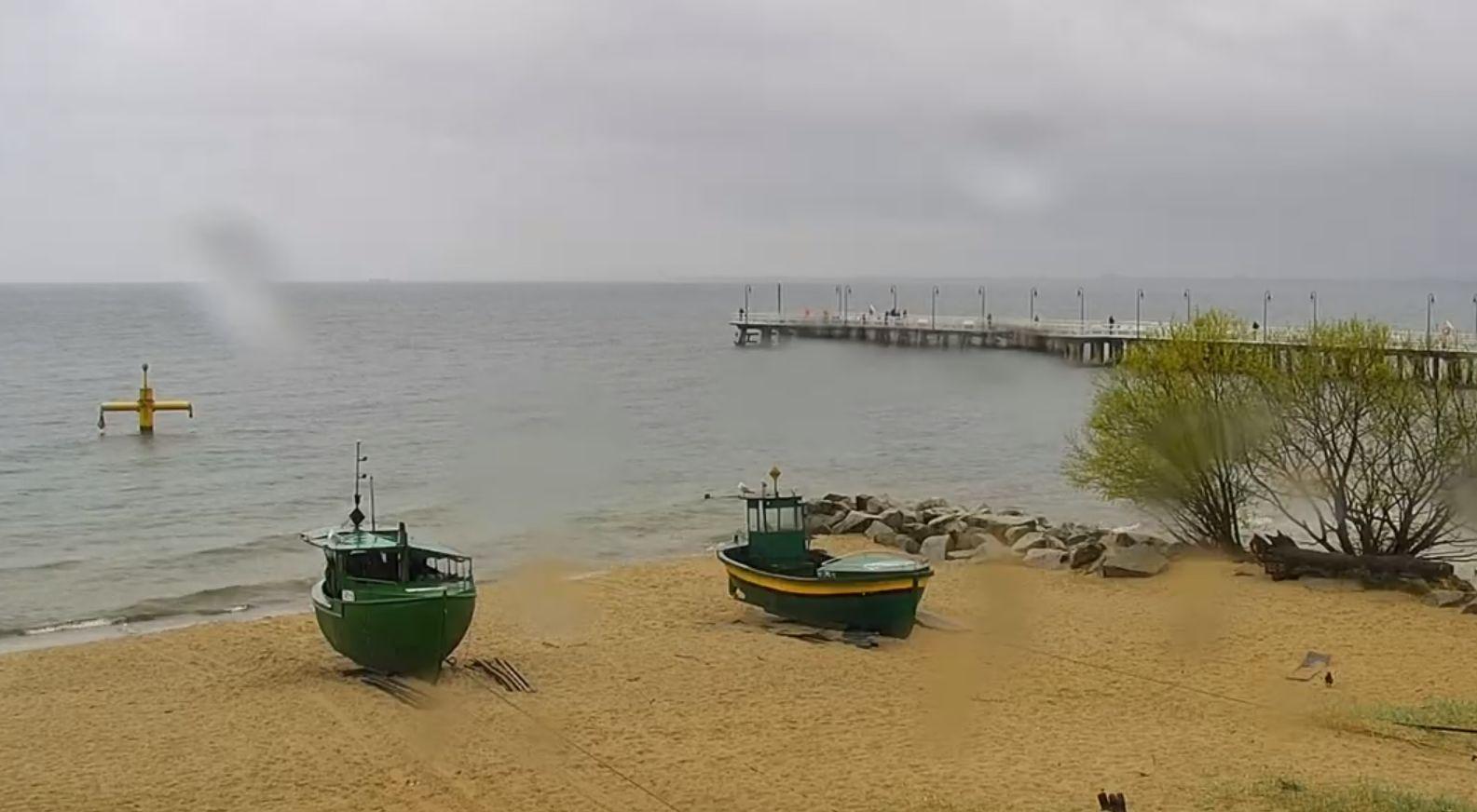 Gdynia, plaża w Orłowie