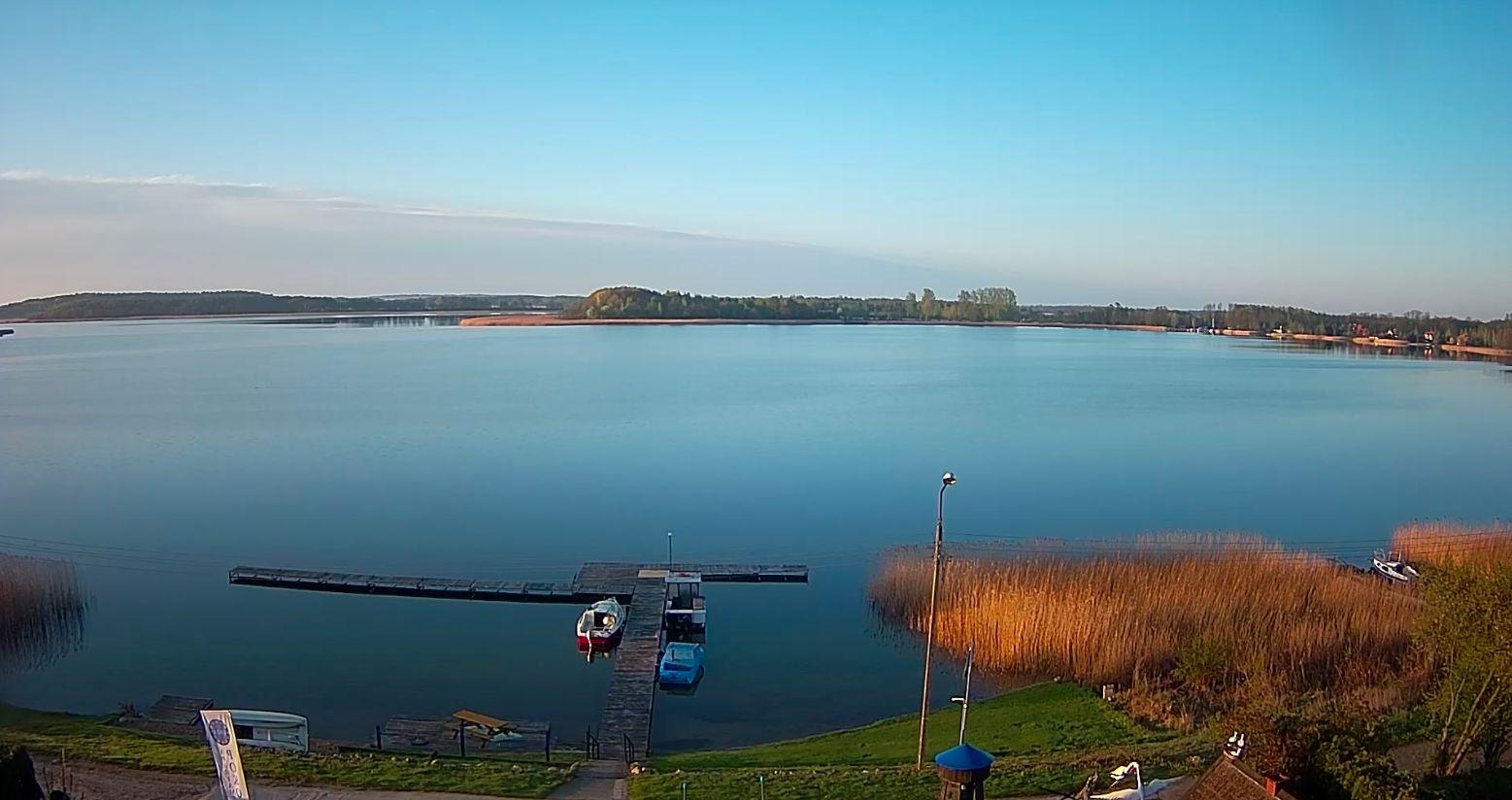 Jezioro Święcajty, port Unia