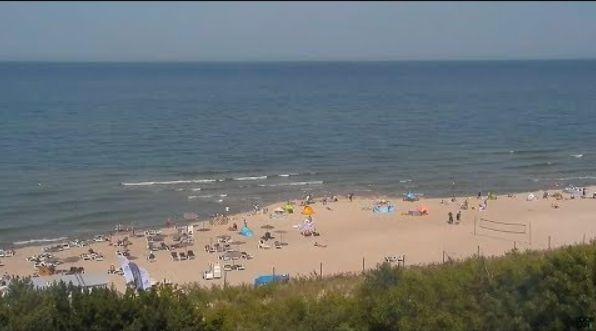Jastarnia, plaża Dom Zdrojowy