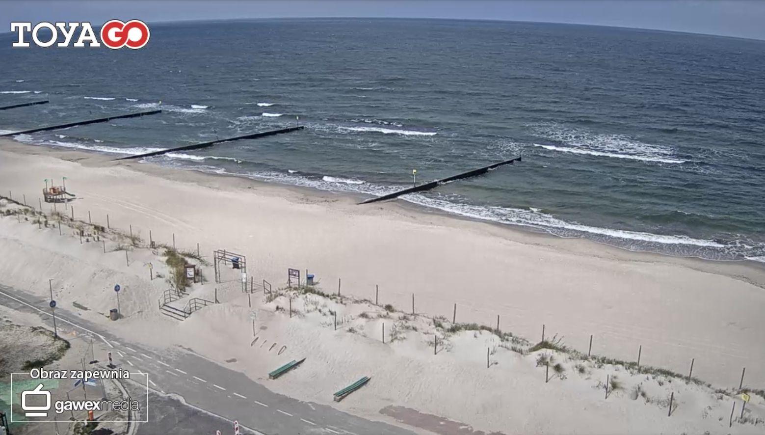 Kołobrzeg, plaża przy ul. Sułkowskiego