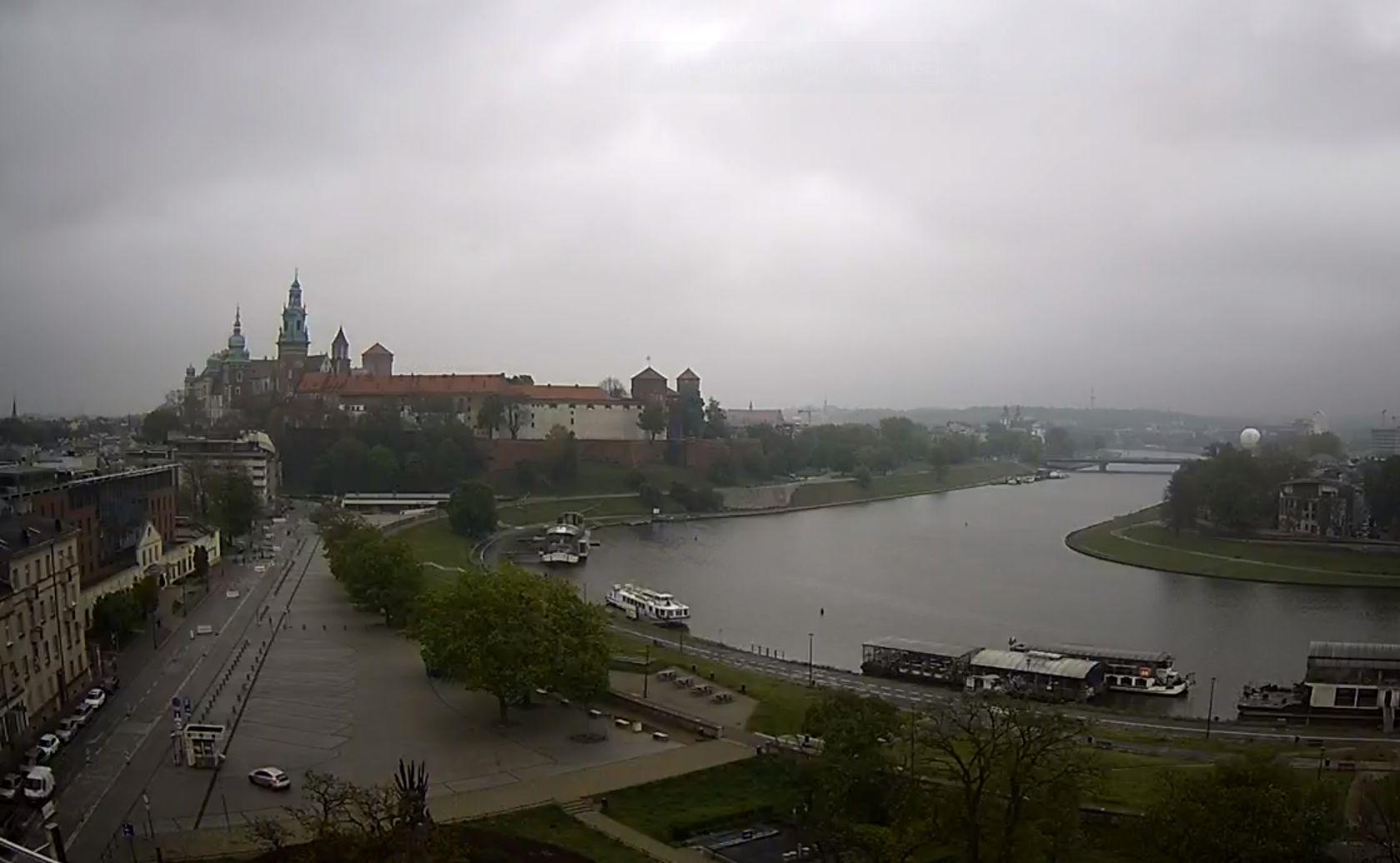 Kraków, Zamek Królewski na Wawelu i Bulwary Wiślane