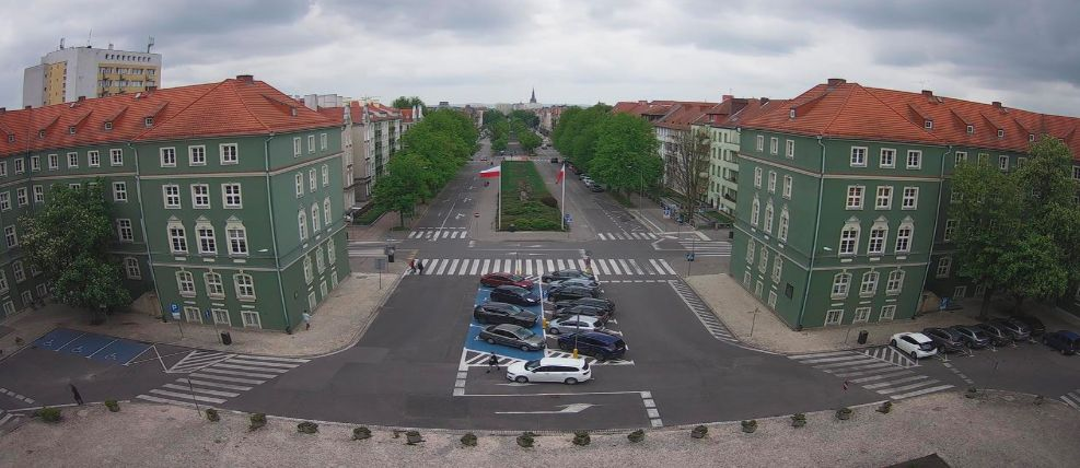 Szczecin, okno gabinetu Prezydenta Miasta