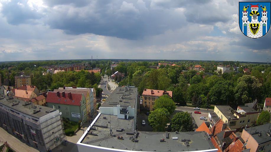 Szprotawa, panorama miasta