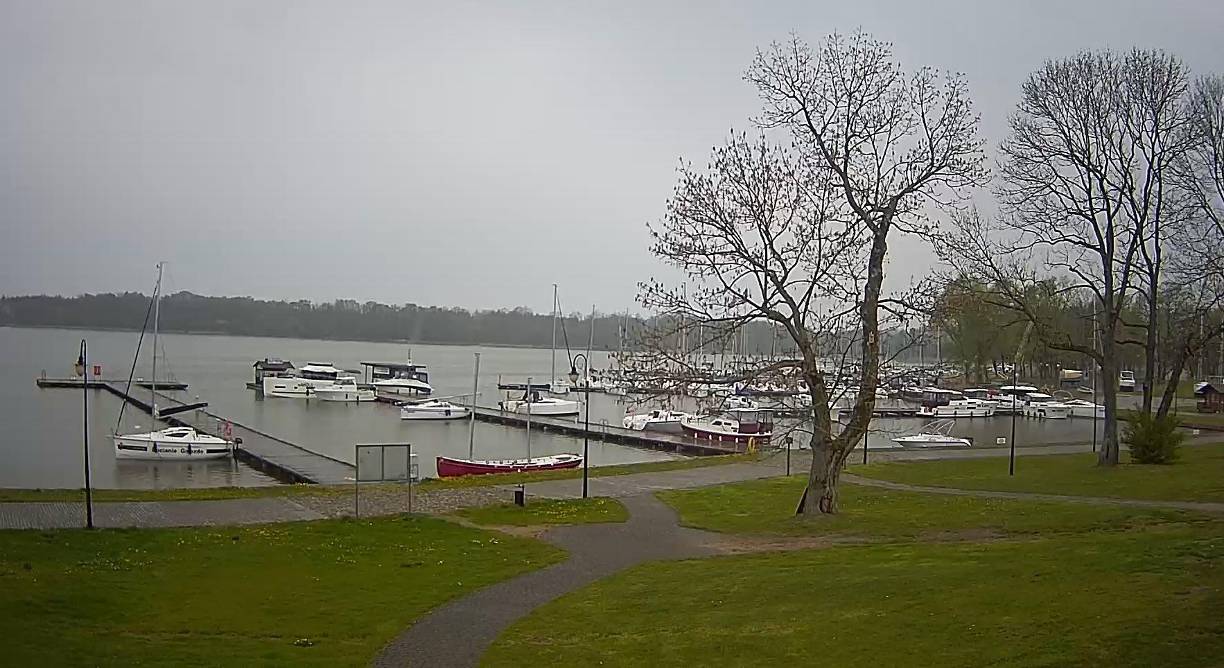 Jezioro Sztynorckie, port Sztynort