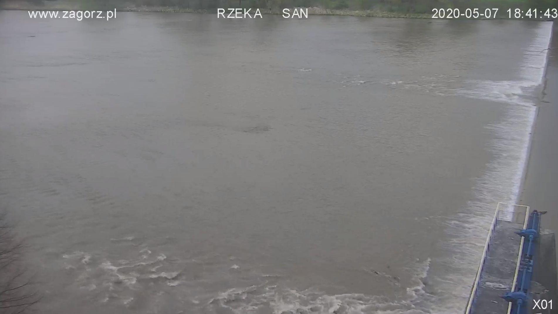 Zagórz, rzeka San